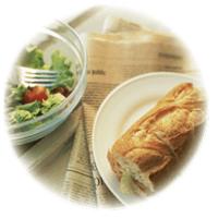 脂質異常症にならないための栄養バランスのよい食事イメージ